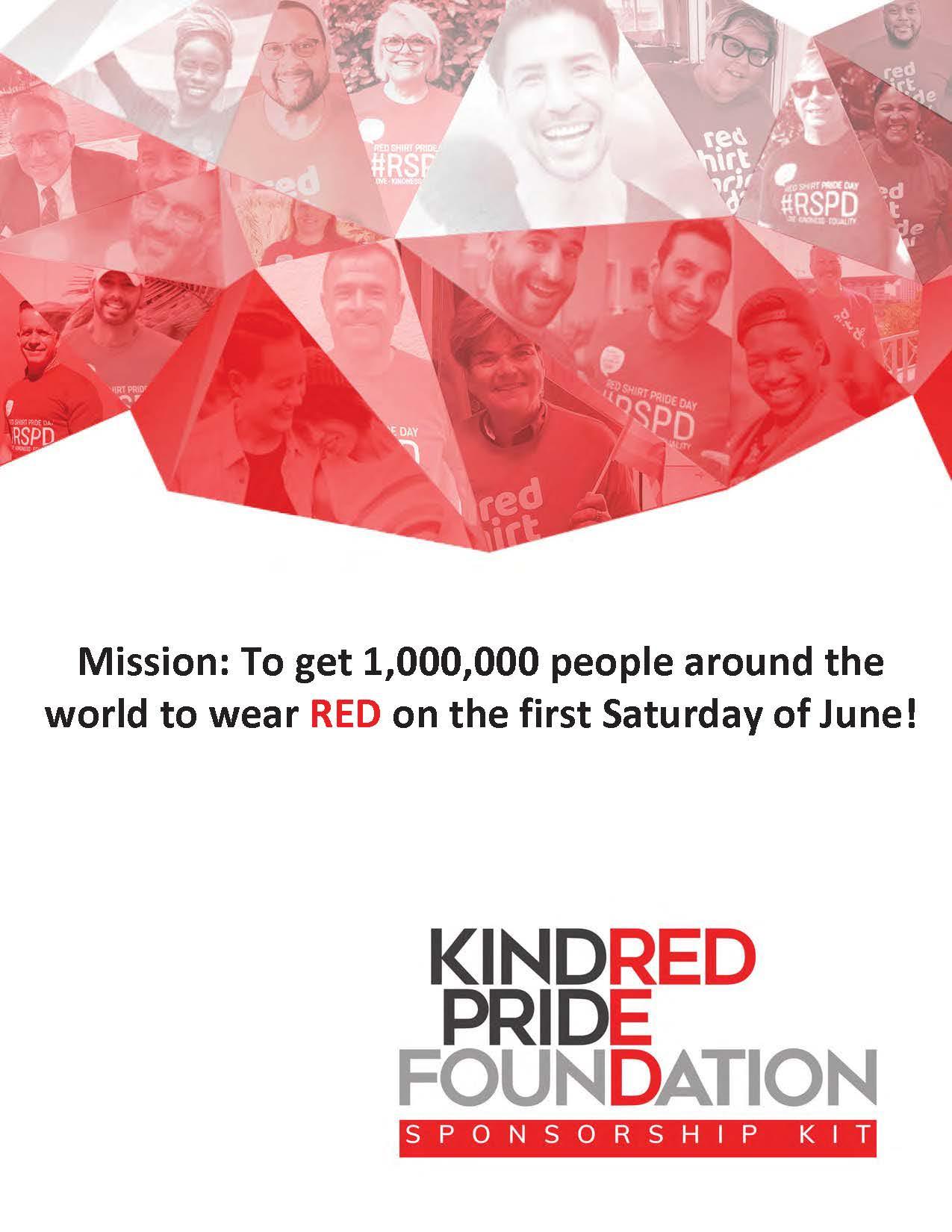 outloud enterprises KindRED Pride Foundation sponsorship 2020 thumbnail graphic