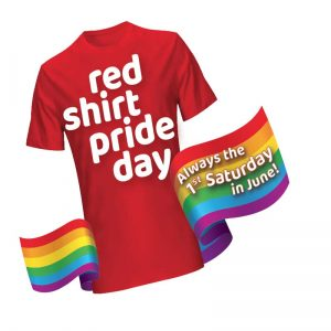 Red Shirt Pride Day logo
